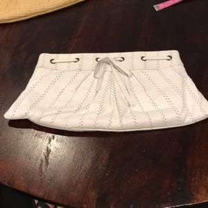 Clutch White Leather Very Loved!